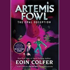 artemis fowl 4 opal deception audiobook by eoin colfer