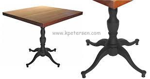 georgian style antique reion ornate cast iron table base