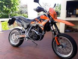 ktm 640 lc4 motard in very good condition for sale tokai
