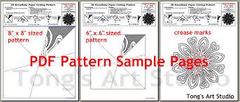 Printable Paper Snowflake Patterns Download Them Or Print