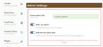 how to change wp admin urls and protect
