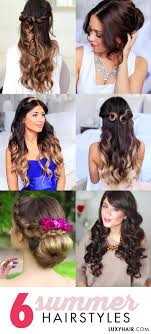 Occasion Hair Style 6 summer hairstyles for any special occasion luxy hair 1743 by stevesalt.us