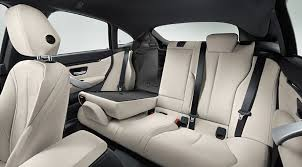 back seats of the 2016 bmw 4 series gran coupe