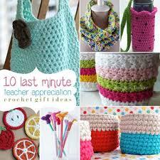 10 Last Minute Teacher Appreciation Crochet Gift Ideas