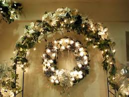 Garland Decoration For Christmas Tree