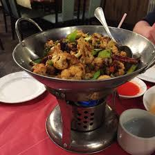 one of our favorite menu items though is the stir fried cauliflower with hot peppers just writing the phrase stir fried cauliflower has me drooling