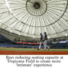 Rays Seating Chart With Rows Rays Reducing Seating Capacity At Tropicana Field To Create