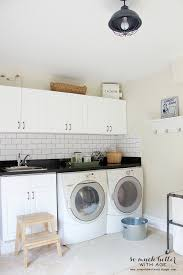 decorating your laundry room