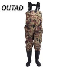 New Camouflage Thicker Waterproof Fishing Boots Pants