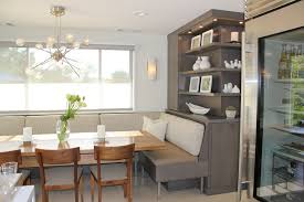 kichler dining room lighting armstrong. Dazzling Banquette Trend San Francisco Contemporary Dining Room Inspiration With Beige Upholstered Chair Built-in Shelves Chandelier Kichler Lighting Armstrong D
