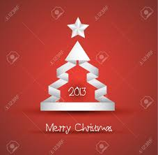 Christmas Backgrounds For Flyers Christmas Tree Design With Origami Paper Style Ideal For Simple