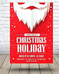 Holiday Flyer Template Word Holiday Flyer Template Vector Illustrator Party Word 2003