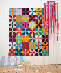 Issue 15 on sale now! - Love Patchwork & Quilting & Colour Me Happy Kaleidoscope quilt by Judith Dahmen for issue 15 of Love  Patchwork & Quilting Adamdwight.com
