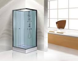Free Standing Square Corner Shower Stall Kits SGS ISO9001