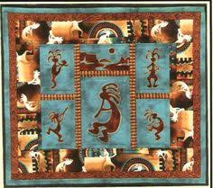 El Oso Applique Pattern - J. Michelle Watts   Quilts to make and ... & Kokopelli applique quilt pattern by Pine Meadows Adamdwight.com