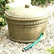 garden hose pot with lid. Garden Hose Storage Pot With Lid Beaded .
