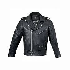 uk new boys genuine leather jacket childrens black real biker style kids coat