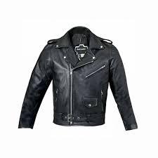 uk new boys genuine leather jacket childrens black real biker style kids coat