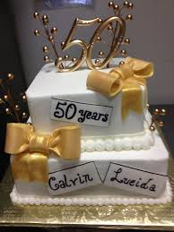 Custom Anniversary Cakes By The Baking Grounds Bakery Café
