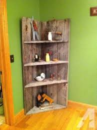 Corner Shelves For Sale Barn wood corner shelf for Sale in Catlettsburg Kentucky 20