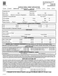 18 Printable Personal Credit Application Form Templates
