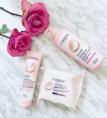 i purchased the l oréal fine flowers cleansing milk cleansing wipes and cleansing gel