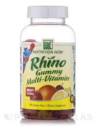 <b>Rhino Multi</b>-<b>Vitamin</b>™ (Assorted Flavors) - 190 <b>Gummies</b>