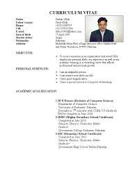 a curriculum vitae format curriculum vitae resume format doc 100 resume format for