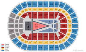 United Center Chicago Tickets Schedule Seating Chart