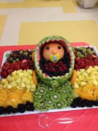 How To Decorate Fruit Tray Innovative Decoration Fruit Trays For Baby Shower Surprising 81