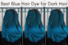 14 best blue hair dyes for dark hair in