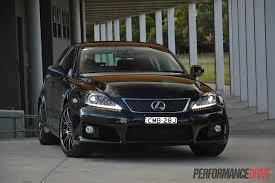 2013 Lexus IS F review (video)   PerformanceDrive