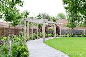 Garden Design Long Garden Wrap Around Gardens In London By Kate Eyre Garden Design