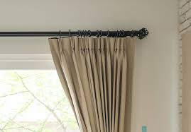 the curtain hooks or hooks can then be inserted into the eye hooks underneath the curtain pole rings pinch pleat and goblet pleat curtains need to