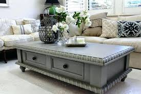 coffee table makeover with chalk paint painting old large size of painted tables grey full size