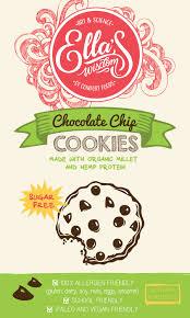 Free Cookies Sticker Design Modern Bold Health Product Sticker Design For Ellas