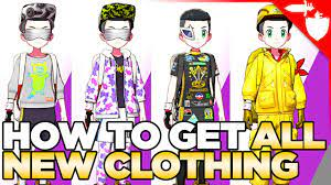 How to Unlock all NEW Clothing from Crown Tundra - Pokemon Sword and Shield  DLC - YouTube