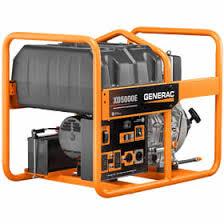 generac. Generac Portable Diesel Generator - 5500 Watt, Yanmar Diesel, Idle Control E
