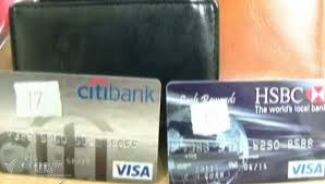 Fake Malaysian Card Credit On Arrested Tourists Use