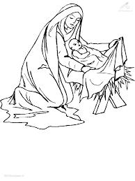 Kleurplaat Kleurplaat Jezus Maria Cjpg