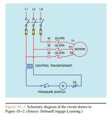 basic control circuits three wire control circuits electric a schematic diagram of the circuit in figure 18 2 is shown in figure 18 3 two wire control circuits are so d because