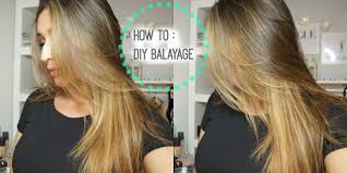 How To Diy Lighten Balayage Your Hair At Home Youtube