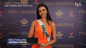 The 69th Miss Universe Competition® | Amanda Obdam, Contestant Interview. -  YouTube