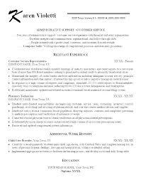 Customer Service Job Description For Resume Wonderful 6322 Profile Resume Examples Customer Care Sample Service Officer Doc Job