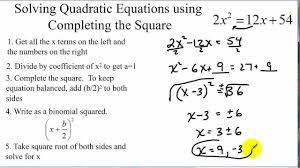 10 3 skills practice solving quadratic equations by completing the