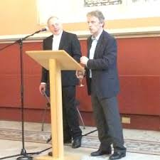 magna carta project j c holt essay prize professor george garnett left and professor john hudson right editors of