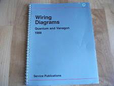 vw quantum 1988 vw quantum vanagon wiring diagrams manual
