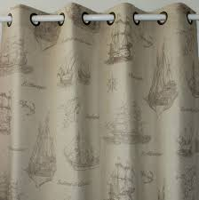 Nautical Bedroom Curtains Popular Brown Curtain Panels Buy Cheap Brown Curtain Panels Lots