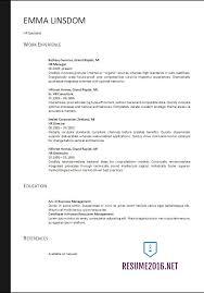 Best Practice Resume Format Free Resume