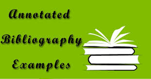 WorksCited Format MLA Annotated Bibliography Tempalte